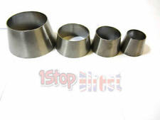"STAINLESS STEEL 2.5"" TO 3""  EXHAUST CONE REDUCER CONNECTOR JOINER POLISHED 316"