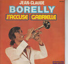 45TRS VINYL 7''/ FRENCH SP JEAN-CLAUDE BORELLY / RARE COVERS HALLYDAY / SARDOU
