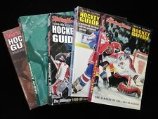 Lot of 5 Different TSN Complete Hockey Guides 1996/97 - 2000/01
