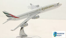 16cm 1:450 EMIRATES A340 Airplane Aeroplane Diecast Metal Plane Toy Model