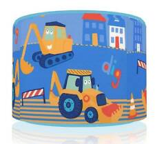 "DIG DIG DIGGER LIGHT SHADE 11""  KIDS ROOM TO MATCH NEXT RANGE FREE P&P"