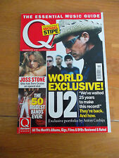 Q MAGAZINE #220 NOV 04 R.E.M. THE HIVES JOSS STONE THE CLASH DANIEL BEDINGFIELD