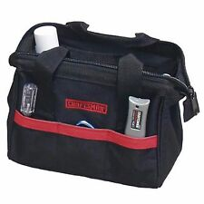 """NEW Craftsman 10"""" inch Reinforced Tool Bag Pouch Carrying Storage Case Tote"""