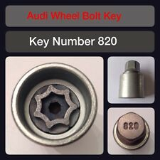 Genuine Audi Locking Wheel Bolt / Nut Key 820 17 Hex