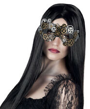 MENS LADIES STEAMPUNK MASK VENETIAN MASQUERADE BALL VENICE EYEMASK NEW