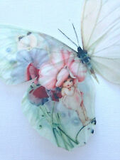4 Stunning Baby Sweetpea Gift 3D Butterflies Butterfly Gifts Decals Accessories