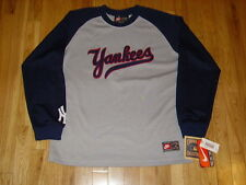 New Nike Cooperstown Collection NEW YORK YANKEES Youth MLB Team LS JERSEY Sz Lrg