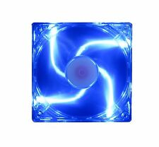120mm 25mm New Blue LED Case Fan 12V DC 85CFM 12025 Computer Cooling 2 pin 468*