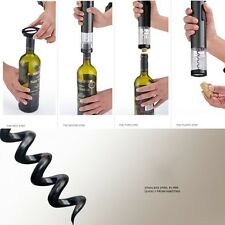 Red Wine Bottle Opener Tools Accessories Mini Electric Corkscrew Foil Cutter