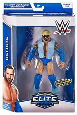 "WWE Batista Elite Figure - Series #33 Pro Wrestler Action Realistic 6"" Figurine"