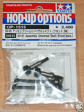 Tamiya 54515 XV-01 Assembly Universal Shaft (Front/2 Pcs.) (XV01/XV-01T/XV01T)