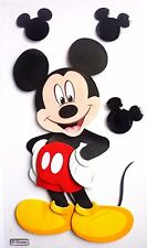 Disney Mickey Mouse Full Body & Mouse Heads Toon Town  Disney 3D Stickers