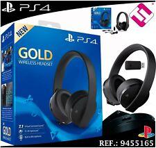 écouteurs Sony Ps4 Gold Sans Fil Casque Audio Microphone 71 Virtuel
