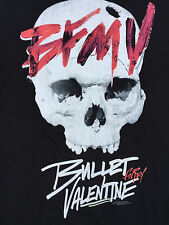 NEW BULLET FOR MY VALENTINE LARGE SKULL MENS T-SHIRT LARGE