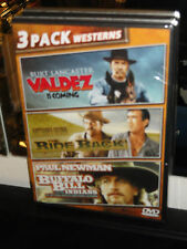 Valdez Is Coming /The  Ride Back / Buffalo Bill And The Indians (DVD) BRAND NEW!