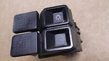 ★★1987-93 MUSTANG LX HEADLIGHT SWITCH ON OFF 5.0 92 91 90 89 88 BLACK DASH★