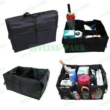 Truck Car Trunk Cargo Organizer Collapsible Bag Storage Black Folding Pocket Box