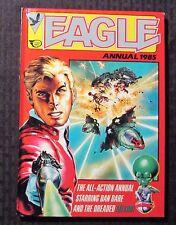 1985  EAGLE UK Annual FN+ 6.5 Hardcover - Dan Dare - Doomlord - Joe Soap