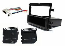 Complete Aftermarket Single Din Radio Stereo Dash Kit Wire Harness Installation