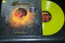 SANCTUARY The Year The Sun Died (yellow LP+CD)   Limited to 100 copies.