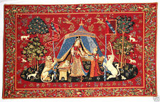 "NEW 36"" A MON SEUL DESIR CLUNY TAPESTRY WALL HANGING WITH BORDER, FULLY LINED"