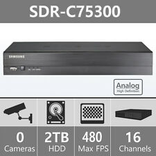 SDR-C75300 - Samsung 16 Channel HD DVR for SDH-C75100 & SDH-C75080