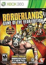 Borderlands: Game of the Year Edition [2011]  (Microsoft Xbox 360, 2011)