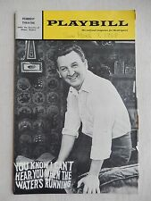 Feb '68 - Forrest Playbill - You Know I Can't Hear You When The Water Is Running