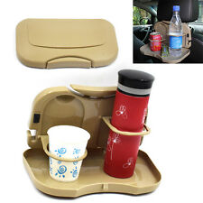 Folding Car Back Seat Multifunction Drink Cup Holder Mount Stand Storage Helpful