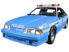 1988 FORD MUSTANG GT NYPD POLICE PATROL CAR LTD TO 600pc 1/18 BY GMP 18812