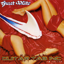 Great White Guitar & Bass Tab ... TWICE SHY Lessons on Disc