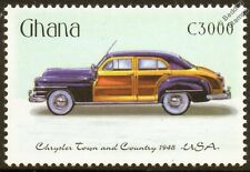 1948 CHRYSLER TOWN AND COUNTRY Car Automobile Mint Stamp