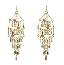 Juicy Couture Multi Layer Chandlier Earrings