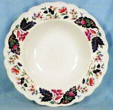 Grindley Strathcona Soup Bowl Marlborough Royal Petal Blue Leaves Berries Flower
