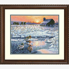 Winter Morning - Gold Collection Counted Cross Stitch Kit New MPN 70-35304