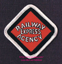 """LMH PATCH Badge  RAILWAY EXPRESS AGENCY Service Rail REA American Delivery 2.75"""""""