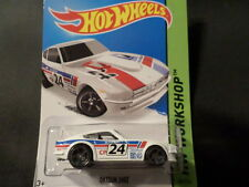 HW HOT WHEELS 2015 HW WORKSHOP #243/250 DATSUN 240Z HOTWHEELS WHITE RARE