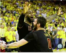 LEBRON JAMES KEVIN LOVE CLEVELAND CAVS 2016 NBA CHAMPIONS 8X10 LICENSED PHOTO #2