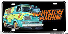 SCOOBY DOO MYSTERY MACHINE BUS LICENSE PLATE MADE IN USA