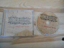 CD Folk Colin Brooks - Blood And Water (12 Song) BLUE ROSE REC