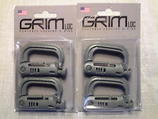 Grimloc Locking for Molle Webbing Light Green x4