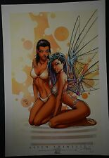 Aspen Swimsuit Michael Turner Art Print Limited to 100
