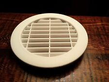 """4"""" White Plastic Round Wall Cabinet Air Venting, Home / RV / Anywhere ( 4 Pack )"""