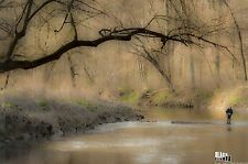 Dreamy Fly Fishing  8.5x11 Original Fine Art Outdoor Sports Photographic Print