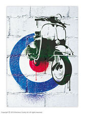 Brainbox CANDY mod SCOOTER VESPA poster retrò vintage 60s target Print Picture