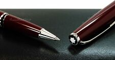NEW Mont Blanc Cruise Collection Bordeaux 113041 Platinum-plated Roller-Ball Pen