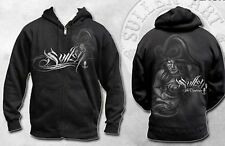 Rare! Sullen Clothing Overboard Pirate Girl Punk Tattoo Hoodie Sweat Shirt 2Xl