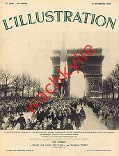 L'illustration n°4890 du 21/11/1936 Guerre Espagne Madrid Languedoc Bagdad Ads