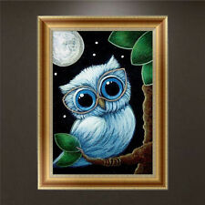 DIY 5D Diamond Embroidery Painting Cute Owl Cross Stitch Home Decor Craft