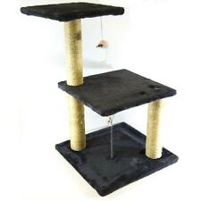 "Deluxe Cat Tree 30"" Condo Furniture Scratching Post Kitten Pet Play Toy House"
